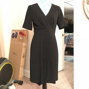 J. Crew Black Dress
